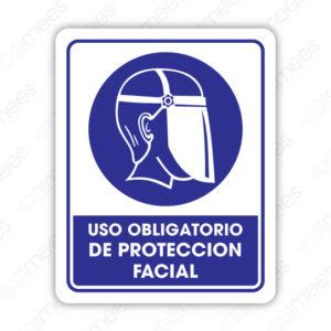SCD 004 Señalamiento Uso Obligatorio de Protección Facial