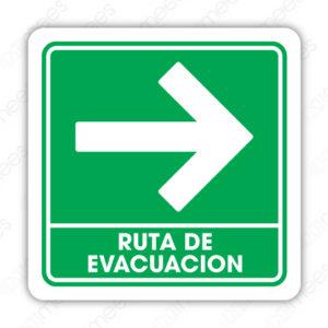 SPC-002 Ruta de Evacuación Derecha