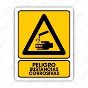 SPR 010 Señalamiento Peligro Sustancias Corrosivas