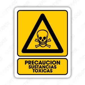 SPR 011 Señalamiento Precaución Sustancias Tóxicas