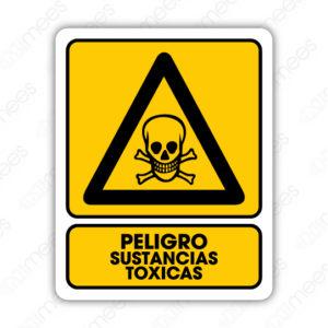 SPR 012 Señalamiento Peligro Sustancias Tóxicas