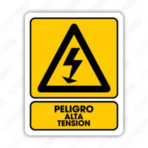 SPR 020 Señalamiento Peligro Alta Tensión