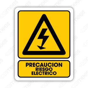 SPR 021 Señalamiento Precaución Riesgo Eléctrico