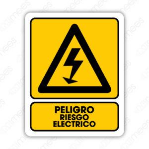 SPR 022 Señalamiento Peligro Riesgo Eléctrico