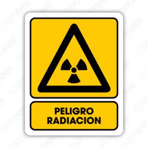 SPR 024 Señalamiento Peligro Radiación