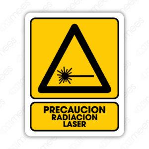 SPR 025 Señalamiento Precaución Radiación Láser
