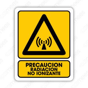 SPR 027 Señalamiento Precaución Radiación No Ionizante