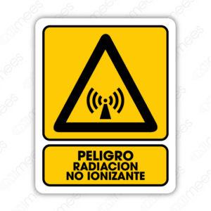 SPR 028 Señalamiento Peligro Radiación No Ionizante