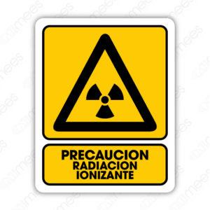 SPR 029 Señalamiento Precaución Radiación Ionizante