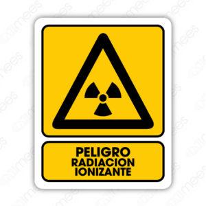 SPR 030 Señalamiento Peligro Radiación Ionizante