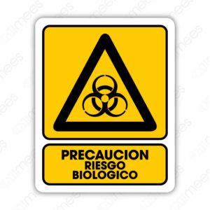 SPR 031 Señalamiento Precaución Riego Biológico