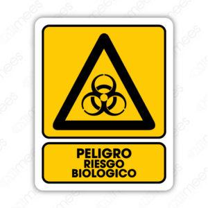 SPR 032 Señalamiento Peligro Riego Biológico