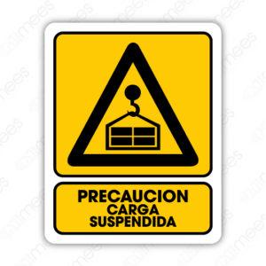 SPR 033 Señalamiento Precaución Carga Suspendida