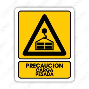 SPR 035 Señalamiento Precaución Carga Pesada