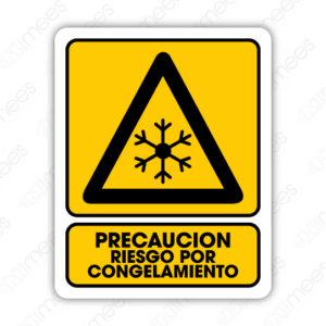 SPR 049 Señalamiento Precaución Riesgo por Congelamiento