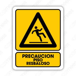 SPR 053 Señalamiento No Precaución Piso Resbaloso