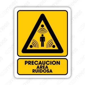 SPR 063 Señalamiento Precaución Area Ruidosa