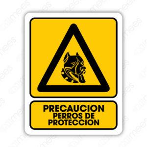 SPR 066 Señalamiento Perros de Protección