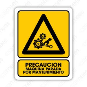 SPR 069 Señalamiento Maquina Parada por Mantenimiento