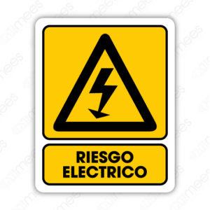 SPR 070 Señalamiento Riesgo Eléctrico