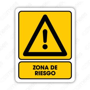 SPR 076 Señalamiento Zona de Riesgo