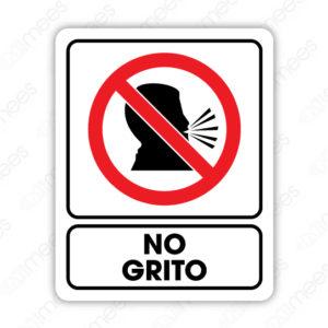 SRO 045 Señalamiento No Grito (Adultos)