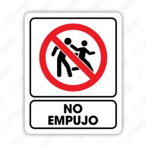 SRO 046 Señalamiento No Empujo (Adultos)