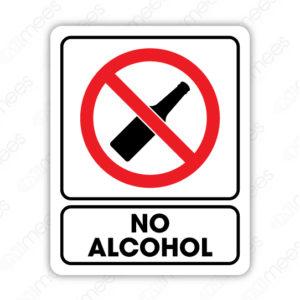 SRO 047 Señalamiento No Alcohol