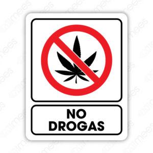 SRO 048 Señalamiento No Drogas
