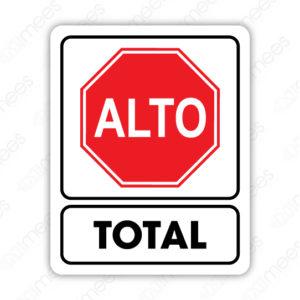 SRO 059 Señalamiento Alto Total