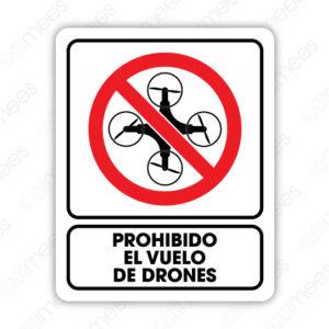 SRO 069 Señalamiento Prohibido el Vuelo de Drones