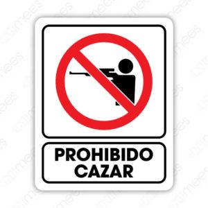 SRO 070 Señalamiento Prohibido Cazar