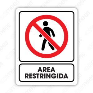 SRO 075 Señalamiento Area Restringida