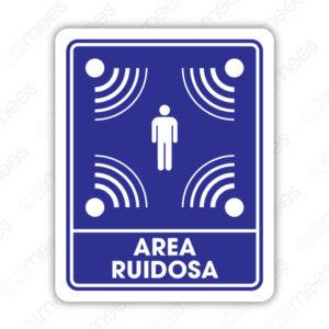 SIN 011 Señalamiento Area Ruidosa