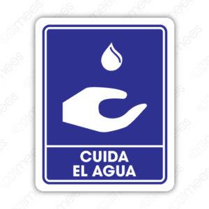 SIN 045 Señalamiento Cuida el Agua