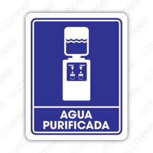 SIN 046 Señalamiento Agua Purificada
