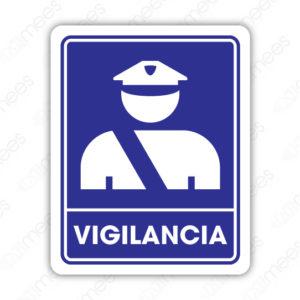 SIN 048 Señalamiento Vigilancia