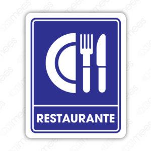 SIN 051 Señalamiento Restaurante