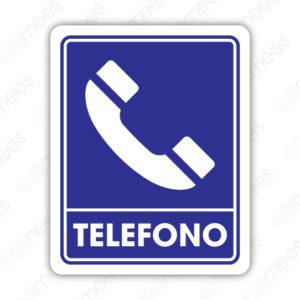 SIN 052 Señalamiento Teléfono