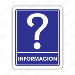 SIN 053 Señalamiento Información