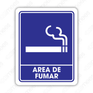 SIN 056 Señalamiento Area de Fumar