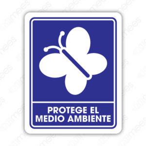 SIN 059 Señalamiento Protege el Medio Ambiente
