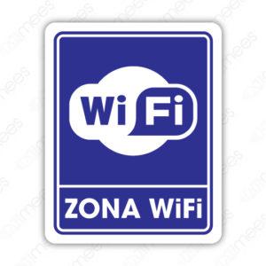 SIN 061 Señalamiento Zona Wifi