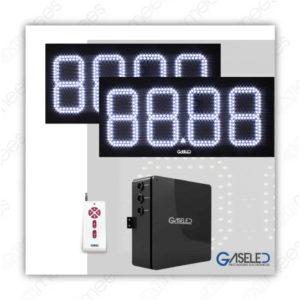 GL-K08-2P1V Kit Preciadores Electrónicos Led 8″ 2 Productos 1 Vista