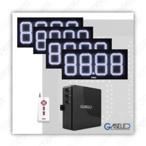 GL-K08-2P2V Kit Preciadores Electrónicos Led 8″ 2 Productos 2 Vistas