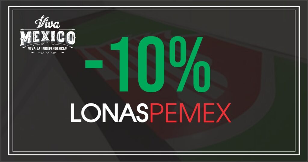 PROMO -10 LONAS PEMEX