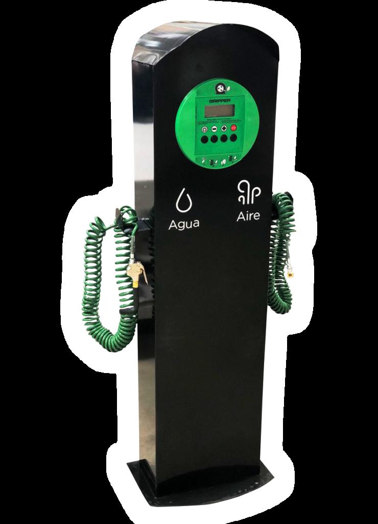 Dispensario de agua y aire electrónico