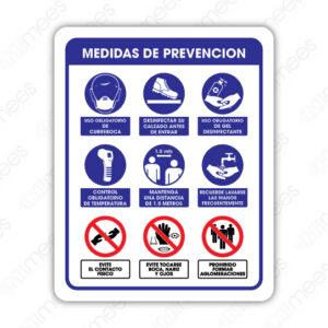 SCD 029 Señalamiento Medidas de Prevención Contra Coronavirus