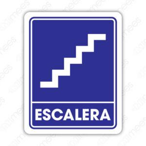 SIN 074 Señalamiento Escalera