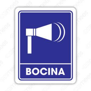 SIN 077 Señalamiento Bocina